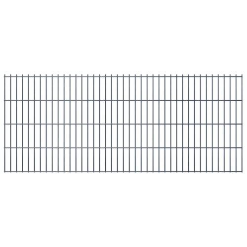 2d gabion fence set 2008 x 830 mm 16 m gray