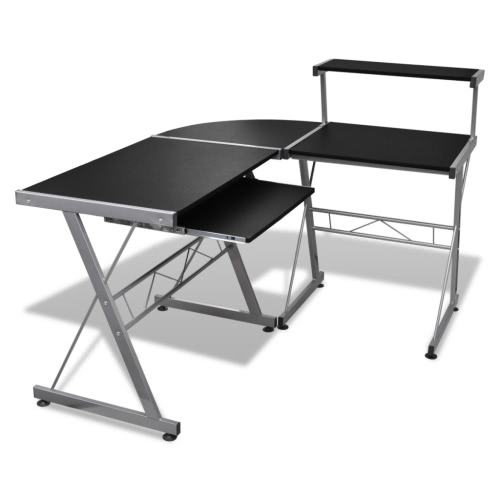 Компьютерный стол подставка для клавиатуры Съемный Черный