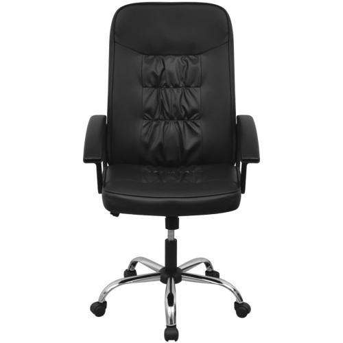 """Офисный стул Искусственная кожа 26.4 """"x27.6"""" Черный"""