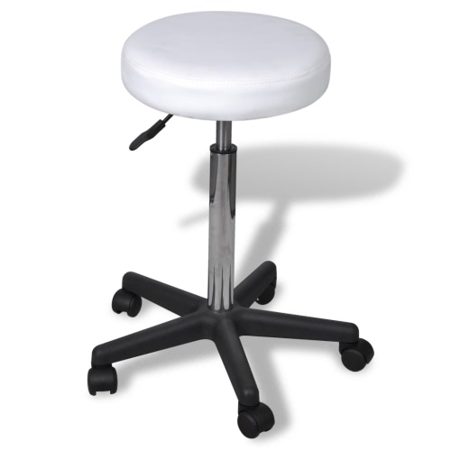 Stool White Office