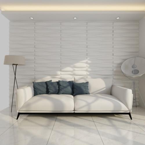 Ola 3D Wall Panel 0,625 M x 0,8 M 12 Platten 6 M²