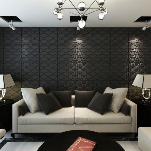 3D стеновых панелей Arco 0,5М х 0.5M 24 панелей 6 M²