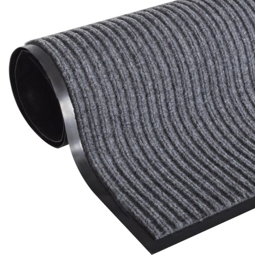 Gray PVC Door Mat 5' 9
