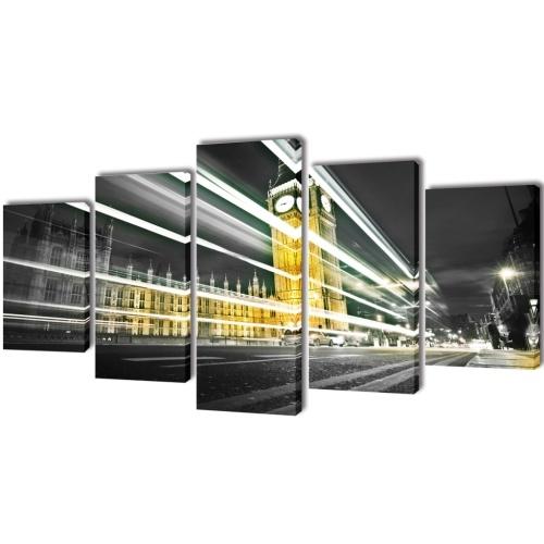 Parete Tela stampa Impostare Londra Big Ben 79