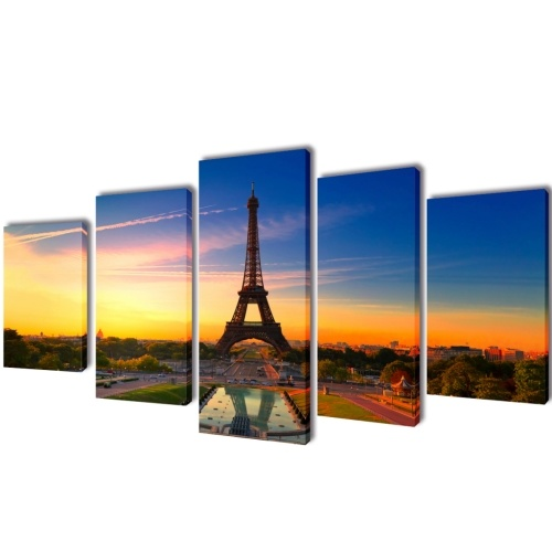 Parete Tela stampa Impostare Torre Eiffel 39