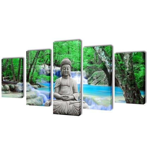 Parete Tela stampa Impostare Buddha 39