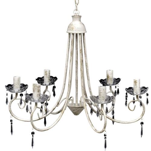 lampadario bianco 22