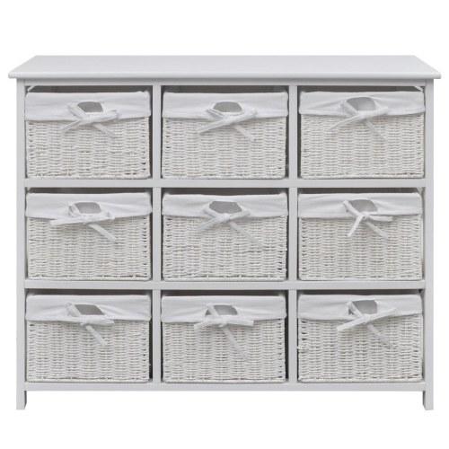 white storage cabinet akron