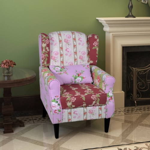 Patchwork Poltrona relax Floral Design