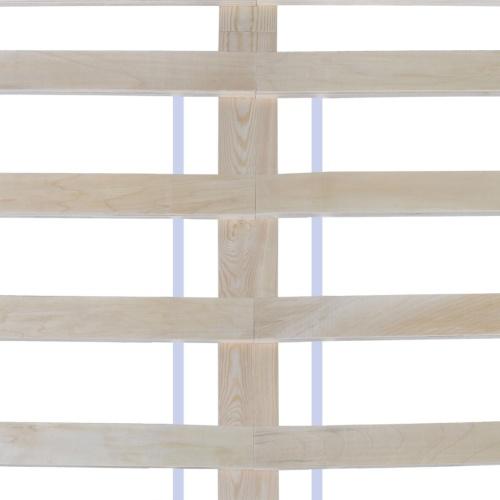 Letto pino massiccio bianco 200 x 140 cm