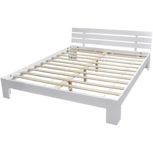 Кровать массив сосны белый 200 х 160 см