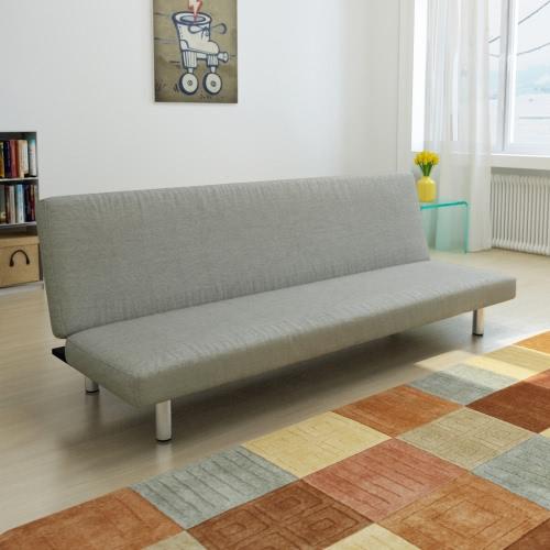 Dark Gray Adjustable Sofa Bed