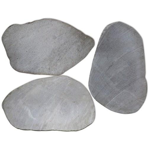 Stepping Stones da giardino 3 pezzi River Stone