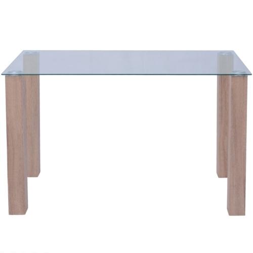 glass coffee table 120x60x75 cm
