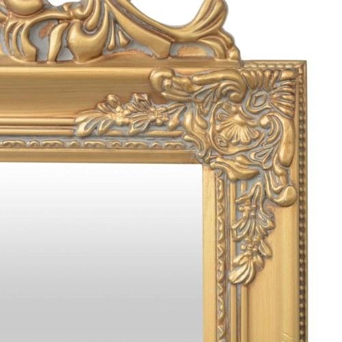 """Свободно-стоящее зеркало в стиле барокко 63 """"x15.7"""" Золото"""