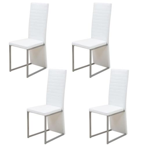 Five Piece Обеденный набор Белый