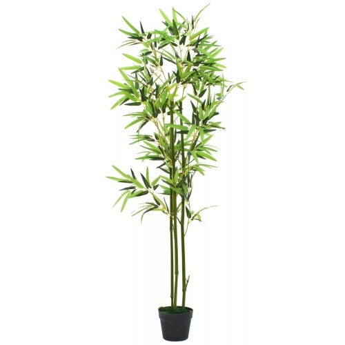Planta de bambú artificial con maceta 59