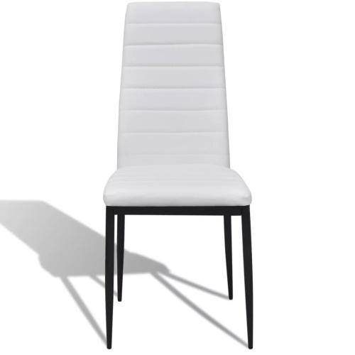 Slim Line Обеденные стулья 6 шт. Искусственная кожа