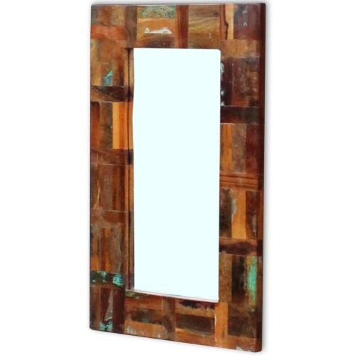 Зеркало в восстановлении массивной древесины 80x50 см
