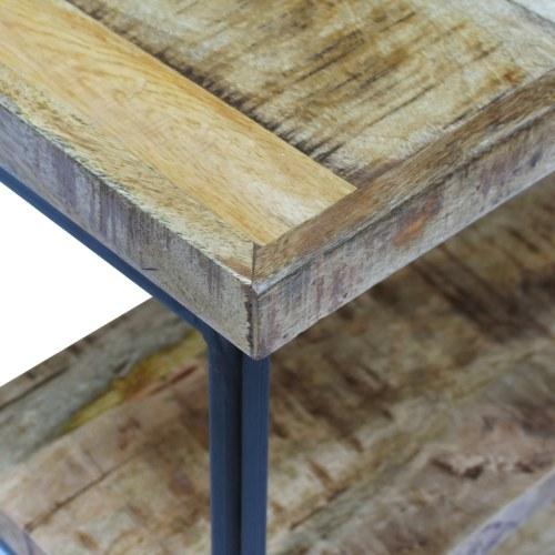 Офисный стол из дерева Mango 110x55x76 см