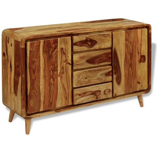 sheesham wood sideboard 140x40x87 cm