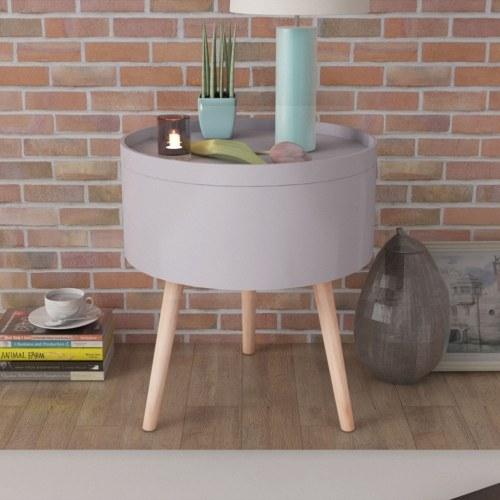 Tavolinetto с лотком для лотков 39.5x44.5 см. Серый