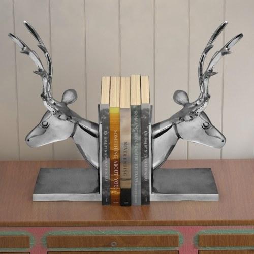 Оленевидные книги 2 шт. Алюминиевый серебристый