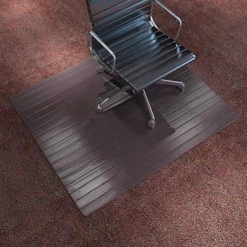 Коврик для стула / Защитный пол Bamboo Brown 90x120 см