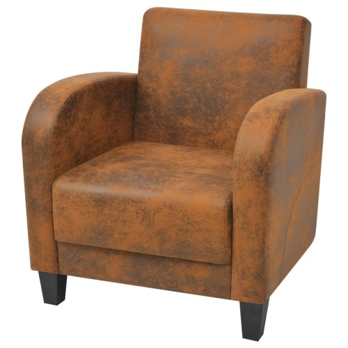 Коричневое кресло 73x72x76 см