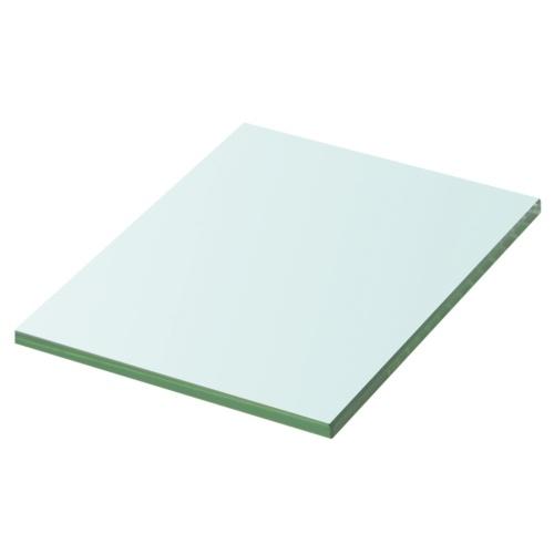 Белый лист из стекла 20x15 см