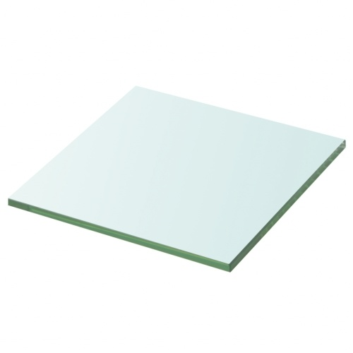Полка в прозрачном стекле 20x20 см