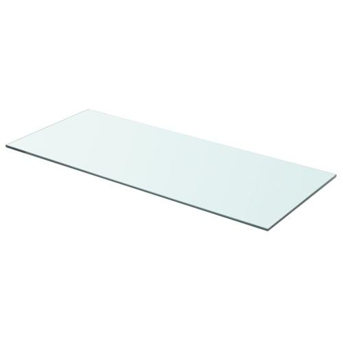Полка в прозрачном стекле 70x30 см