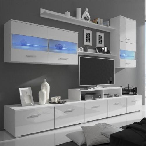 7 шт. Телевизор со светодиодом 250 см. Белый лак