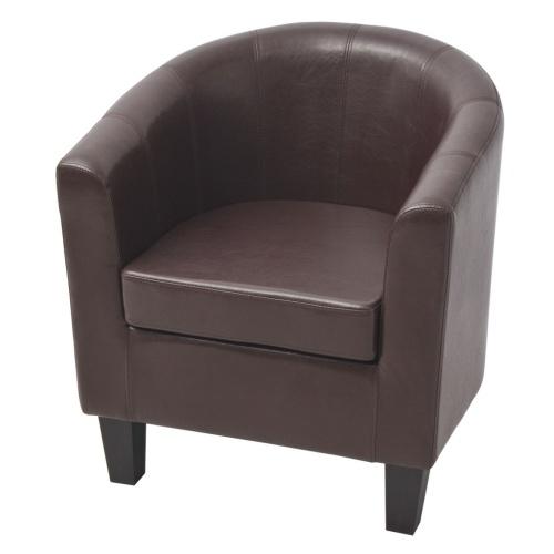 Кожаное кресло из искусственной кожи