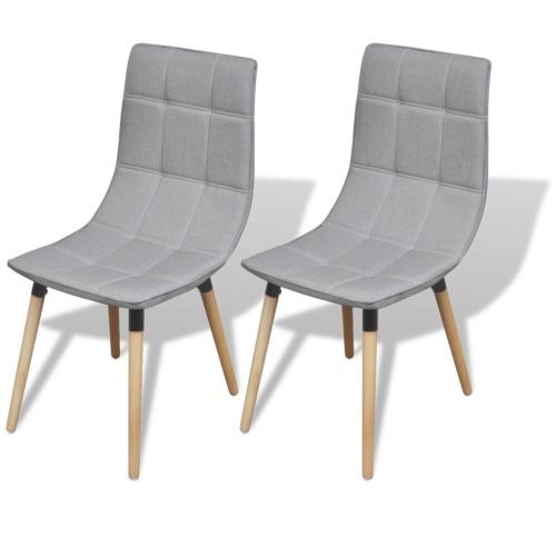 2 шт. Светло-серый стулья для столовой