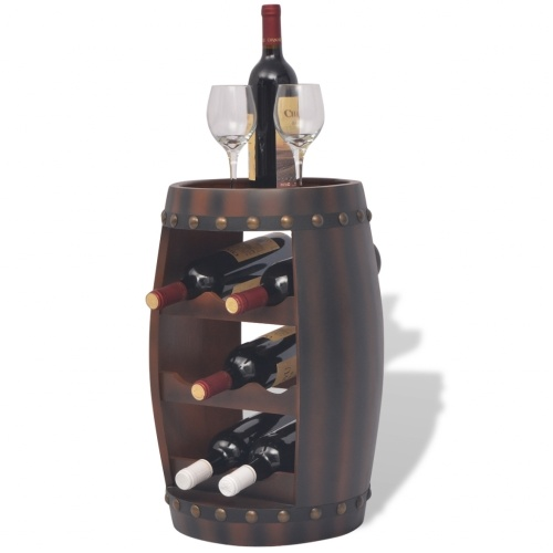 Бочкообразные винные шкафы 8 бутылок Браун