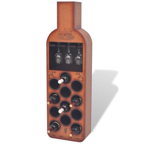 12 бутылочных бутылок коричневый