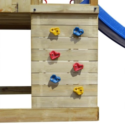 house wooden toy scale, slide, swings 557x280x271 cm