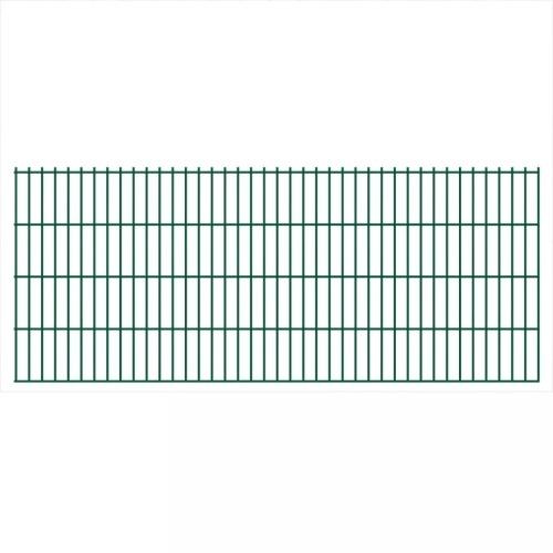 2d panel fencing garden 2008x830 mm 4 m green