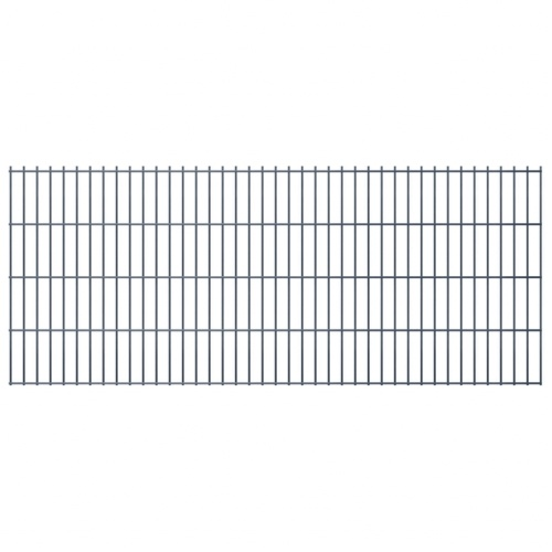 2d panel fencing garden 2008x830 mm 42m grey