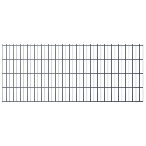 2d panel fencing garden 2008x830 mm 44m grey
