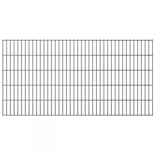 2d panel fencing garden 2008x1030 mm 40m grey