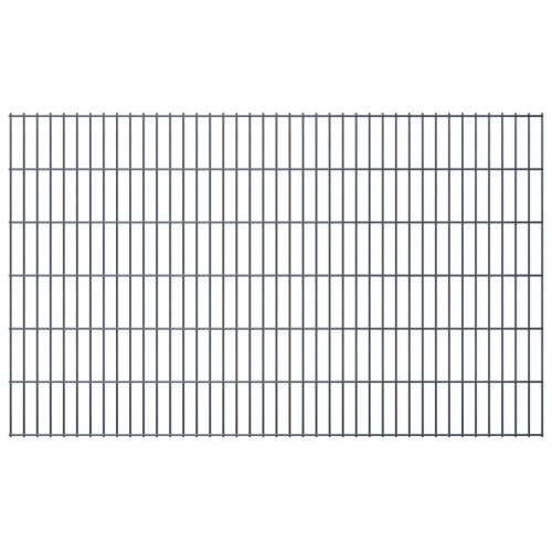 2d panel fencing garden 2008x1230 mm 10m grey
