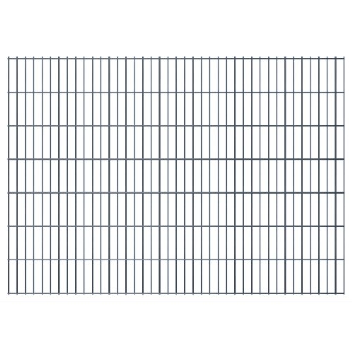 2d panel fencing garden 2008x1430 mm 36m grey