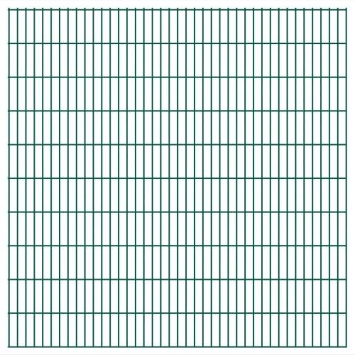 2d panel fencing garden 2008x2030 mm 8 m green title=2d panel fencing garden 2008x2030 mm 8 m green