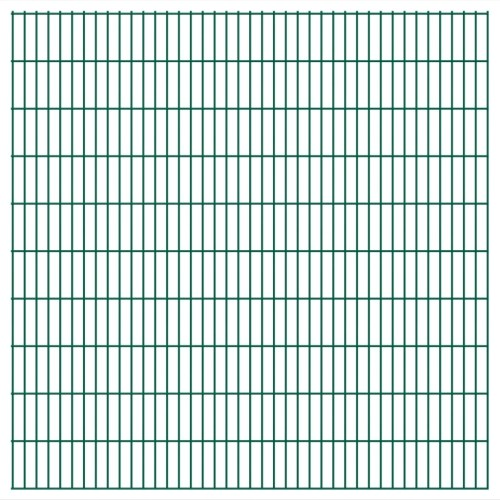 2d panel fencing garden 2008x2030 mm 18 m green