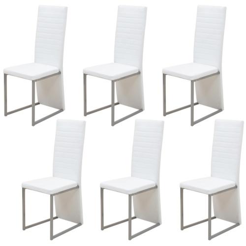 6 шт. Стулья для белой столовой
