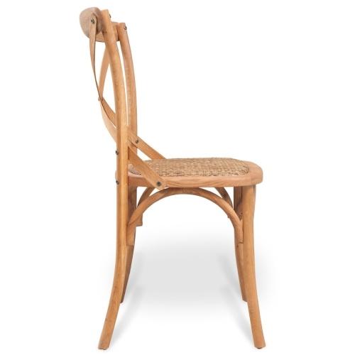 6 шт. Столовые стулья Дуб массивный лес 48x45x90 см