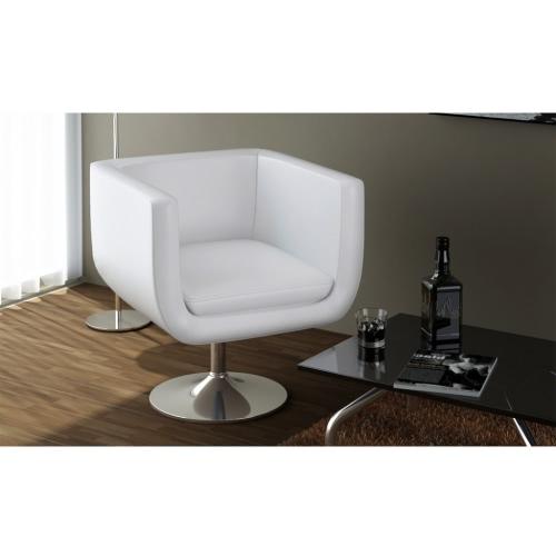Réglable Blanc Moderne & Chorme Couleur Tabouret de bar