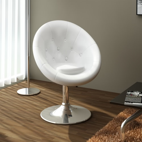 Stool-Poltrocina White Club